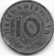 10 REICHSPFENNIG zinc 1940 A