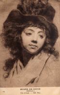 MUSEE  DE DIJON   - HOIN  (Claude)  -  Tête D'Etude   CPA  Année1912  N°154 EDIT ND PHOTO154 - Aquarelles