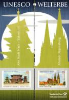 """Emission Commune ALLEMAGNE - JAPON 2011 : Encart-dépliant 1er Jour De 10 Pages """" UNESCO """". Parfait état. FDC - Joint Issues"""
