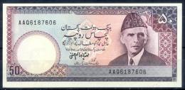 B78- Bankbiljetten, Billets, Banconote. Pakistan Signature Of Imtiaz Alam Hanfi. Rs 50.00 Banknote. - Pakistan