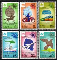 Nord KOREA 1978 - Geschichte Der Post, 100 J. Weltpostverein UPU - MiNr.1693-1698 Kompl. Satz - Post