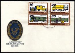 DDR 1978 - Posttransporte - MiNr.2299-2302 FDC - Post