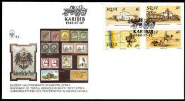 Südwestafrika 1988 - 100 Jahre Postdienst - FDC MiNr.625-626 - Post