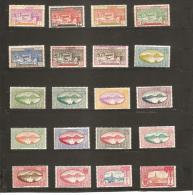 1928  -  38  VUES  N° 99 *   à   122*  Charnière - Guadalupe (1884-1947)