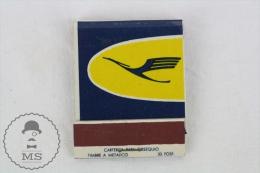 Vintage Advertising Matchbox - Lufthansa Airlines Advertising - Zündholzschachteln