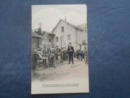 Frontière Franco-allemande Au Col De La Schlucht - Douaniers - Colorisée - Ed/ DRGM 23006 - Circulée 1907- L205 - France
