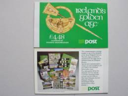 Irland 683 MH Booklet **, MNH, 1300. Todestag Der Frankenapostel Kilian, Kolonat Und Totnan - Libretti