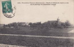 Guerre 14-18, Alsace (68), Grunenwald, La Chapelle De Pélérinage, Circulée - Guerre 1914-18