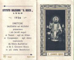 CALENDARIETTO 1936 S. GIOVANNI BOSCO LUGO ISTITUTO SALESIANO DON BOSCO - Calendari