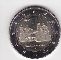 2€ Commémorative ALLEMAGNE 2014  * NIEDERSACHSEN * :  Lettre A  > Neuve  Non Circulée ! ! ! - Alemania