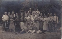 Guerre 14-18, Alsace (68), ), Lutterbach, Carte Photo Camoufflage, Blenden, Deux Scans - Guerra 1914-18