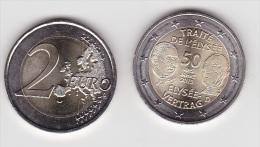 2€ Traité De L´Elysée 2013 - ALLEMAGNE >  Superbe Non Circulée - Alemania