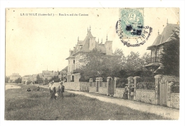 Cp, 44, La Baule, Boulevard Du Casino, Voyagée 1906 - La Baule-Escoublac