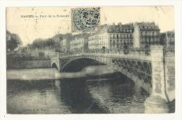 Cp, 44, Nantes, Pont De La Rotonde, Voyagée 1904 - Nantes