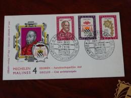 Belgie 1961 FDC 1188/90 - FDC