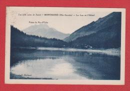 Haute Savoie //  Montriond //  Le Lac Et L'hôtel - France
