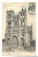 Cp, 80, Amiens, La Cathédrale, Voyagée 1905 ? - Amiens