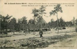 Militaria - Guerre 1914-18 - Régiments - Région De Chalons - Le Cantonnement De La Division Marocaine - Général Marchand - War 1914-18