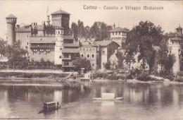 Italy Torino Castello E Villaggio Medioevale - Castello Del Valentino