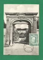 Belgien 1962 Mi.Nr. 1270 ,  Abbaye St-Denis-en-Brocqueroie - Maximum Karte - 13.02.1962 - Cartes-maximum (CM)