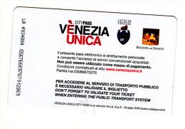 Italy , Venezia , Coat Of Arms ,  Boat  Ticket  , 2015 - Boat