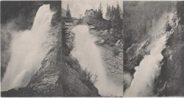 3 X AK Krimml Unterer Mittlerer Oberer Krimmler Wasserfall Drucksache Land Salzburg Pinzgau Bei Wald Bramberg Gerlos - Krimml