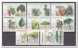 Rwanda 1984, Postfris MNH, Trees - 1980-89: Ongebruikt