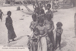 CHANDERNAGOR Groupe D'enfants Bengalis - India