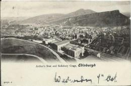 ECOSSE - EDINBURGH  (petit Pli Dans Un Angle) - Midlothian/ Edinburgh