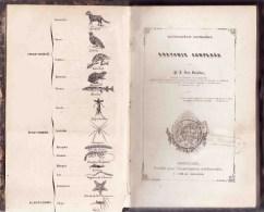 ANATOMIE COMPAREE Par Van Beneden Pierre-Joseph (1809-1894)  Encyclopédie Populaire Bruxelles, 1852 - Sciences