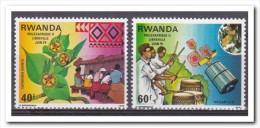 Rwanda 1979, Postfris MNH, Plants, Music - Rwanda
