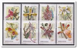 Rwanda 1976, Postfris MNH, Flowers, Orchids - Rwanda