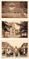 3 Cpa R. Lebeau, Caen, Usine, Magasin De Caen, Normandy Hotel, Deauville, Dives ( Poteries Normandes ) - Deauville