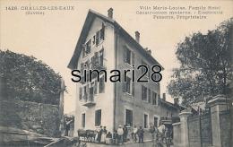 CHALLES-LES-EAUX - N° 1426 - VILLA MARIE-LOUISE. FAMILY HOTEL - CONSTRUCTION MODERNE - ELECTRICITE - PERROTIN PROPRIETAI - Autres Communes