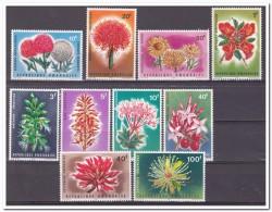 Rwanda 1966, Postfris MNH, Flowers - Rwanda