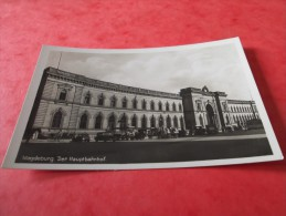 CPSM    Animée    TOP     MAGDEBURG     DER  HAUPTBAHNHOF - Magdeburg