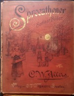 1889 - BERLIN - W. C ALLERS - SPREEATHENER - 15 TAFELN - - Lithographies