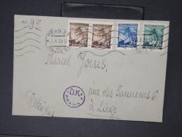 BOHEME ET MORAVIE- Enveloppe De Prague Pour La Belgique Le 26 Octobre 1939   à Voir  Lot P 5651 - Lettres & Documents