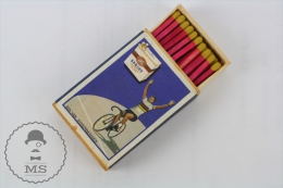 Vintage Advertising Matchbox - Cyclist Rik Van Steenbergen - Sprit Cigarettes Advertising - Cajas De Cerillas (fósforos)