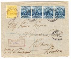 Peru MiF R-Brief 19.3.1890 Yquitos Nach London - Pérou