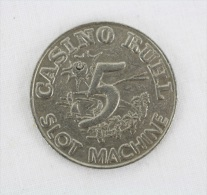 Casino Of Nice Jeton / Chip / Token / Gettone / Fiche - Casino Ruhl, Slot Machine - Casino