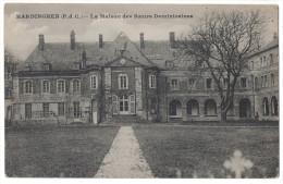 RARE Pas De Calais 62 - HARDINGHEN La Maison Des Soeurs Dominicaines Couvent ? Chateau Vue Sur La Facade Ed. Réant Lille - Francia