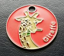 Giraffe Einkaufswagenchip EKW Chip Jeton Caddie - Jetons De Caddies