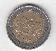 FINLAND - 2 Euro Coin 1999 - Finland