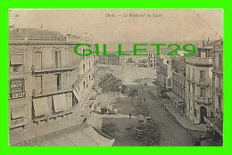 ORAN, ALGÉRIE - LE BOULEVARD DU LYCÉE - ANIMÉE - L. GIBERT - - Oran