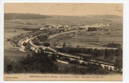 DEMANGE AUX EAUX (55) - LE CANAL ET LA VALLEE - Autres Communes