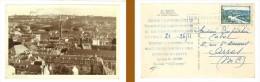Reims, Vue Générale Et Caves Pommery (texte Imprimé Au Verso, Concernant La Librairie Hachette, éditions La Cigogne ) - Reims