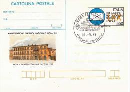 Cartolina Postale 1989 IMOLA 89, AF_Roma - Postwaardestukken