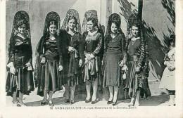 Cpa ESPAGNE - ANDALUCIA TIPICA - Las Mantillas De La Semana Santa - Espagne