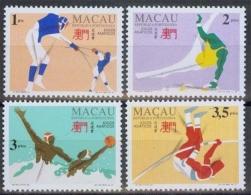 Macau MiNr. 770/73 **, Asienspiele, Hiroshima - 1999-... Chinese Admnistrative Region